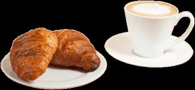2 Croissants + Café